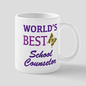 World's Best School Counselor (Butterfly) Mug