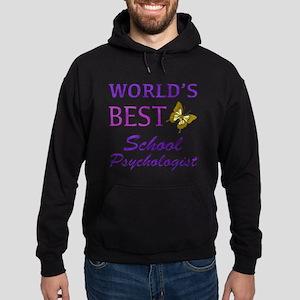 World's Best School Psychologist (Butterfly) Hoodi