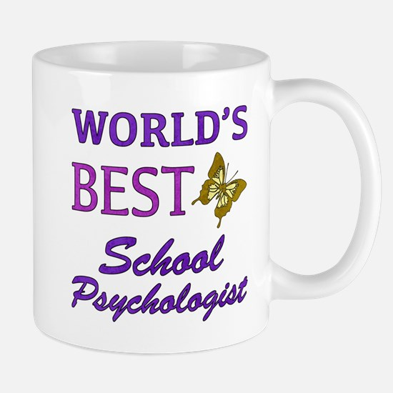 World's Best School Psychologist (Butterfly) Mug