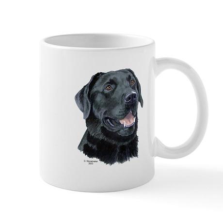 Tejas Black Labrador Retriever Mug