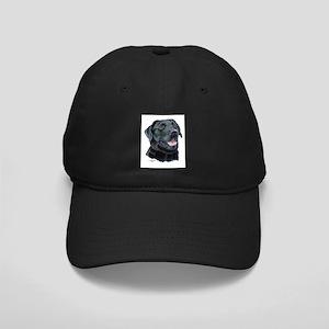 Tejas Black Labrador Black Cap
