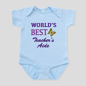 World's Best Teacher's Aide (Butterfly) Infant Bod