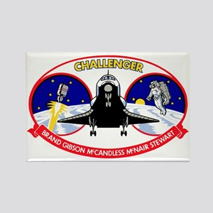 STS-41B Challenger Rectangle Magnet