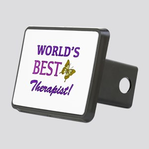 World's Best Therapist (Butterfly) Rectangular Hit
