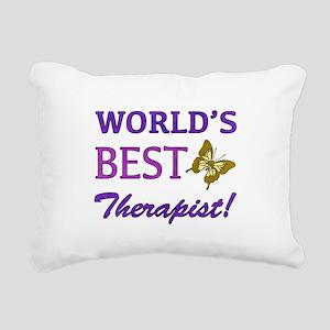 World's Best Therapist (Butterfly) Rectangular Can
