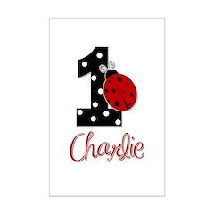 1 Ladybug CHARLIE - Custom Posters