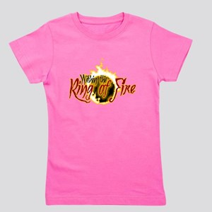 Within the Ring of Fire - Logo Girl's Tee