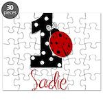 1 Ladybug SADIE - Custom Puzzle