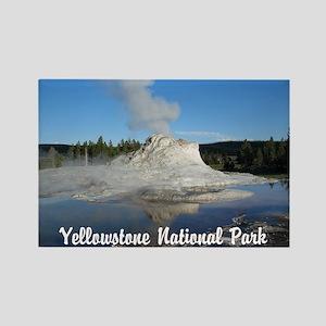 Customizable Yellowstone Geyser Photograph Rectang
