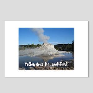 Customizable Yellowstone Geyser Photograph Postcar