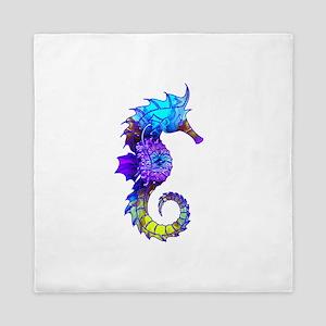 Sigmund Seahorse Queen Duvet