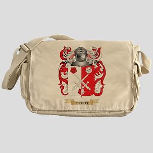 Trent Family Crest (Coat of Arms) Messenger Bag