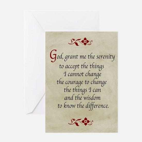 Serenity Prayer-Vintage Greeting Cards