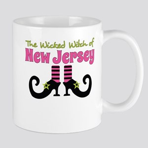 Wicked Witch of New Jersey Mugs