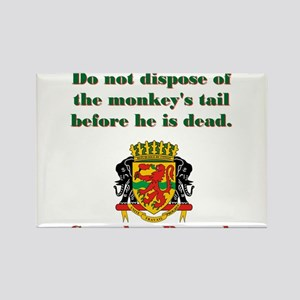 Do Not Dispose - Congolese Proverb Rectangle Magne