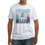 Astronaut 12-Step Show-off Fitted T-Shirt