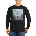Astronaut 12-Step Show-off Long Sleeve Dark T-Shir