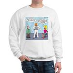 Astronaut 12-Step Show-off Sweatshirt