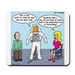 Astronaut 12-Step Show-off Mousepad