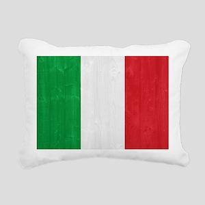 Italy flag Rectangular Canvas Pillow