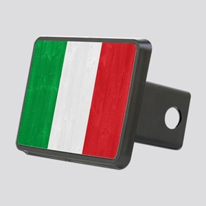 Italy flag Rectangular Hitch Cover