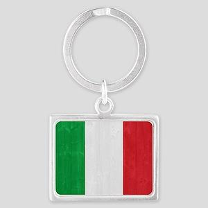 Italy flag Landscape Keychain