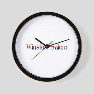 Winston-Salem Wall Clock