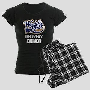 Delivery Driver (Worlds Best) Women's Dark Pajamas