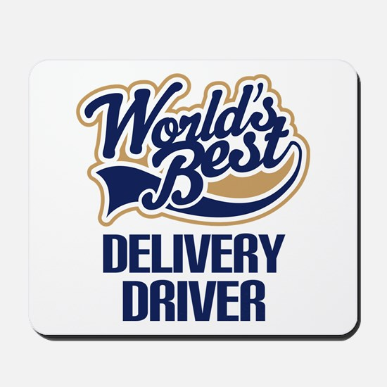 Delivery Driver (Worlds Best) Mousepad
