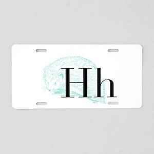 Menagegram Aluminum License Plate