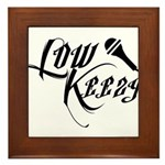 Lowkeezy Framed Tile