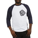 My Wife is a Sailor dog tag Baseball Jersey