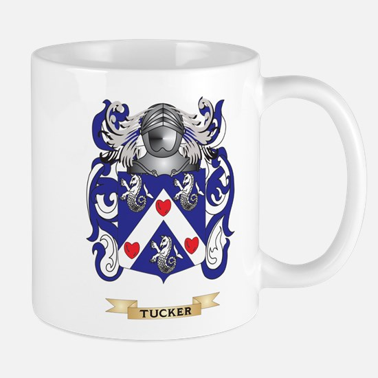 Tucker Family Crest (Coat of Arms) Mugs