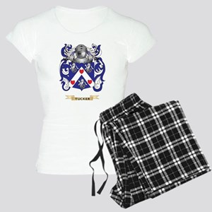 Tucker Family Crest (Coat of Arms) Pajamas
