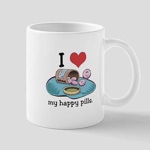 I Heart (Love) My Happy Pills Mug
