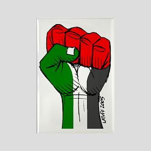 Palestine  Rectangle Magnet