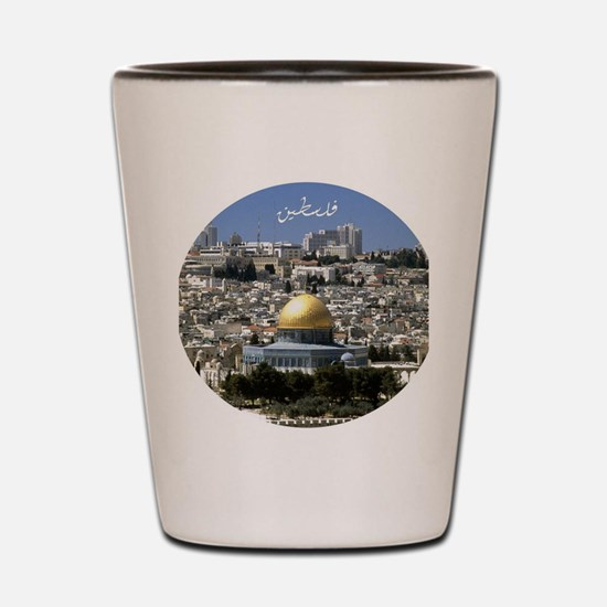 Palestine Shot Glass