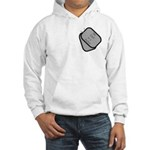 My Dad is a Sailor dog tag Hooded Sweatshirt