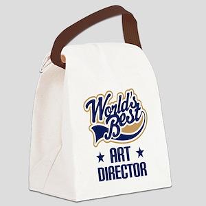 Art Director (Worlds Best) Canvas Lunch Bag
