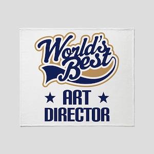 Art Director (Worlds Best) Throw Blanket