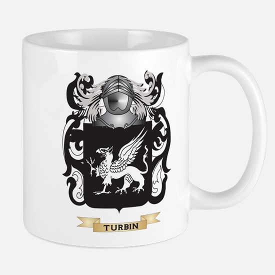Turbin Family Crest (Coat of Arms) Mugs