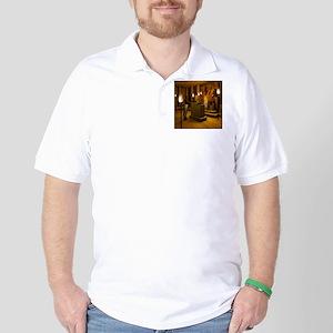 Queen Nefertitis Bust Golf Shirt