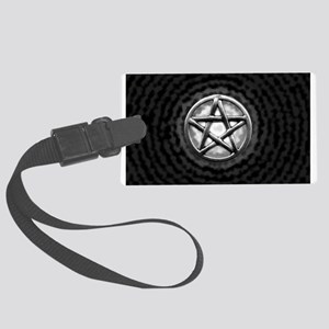 Silver Pentacle Luggage Tag
