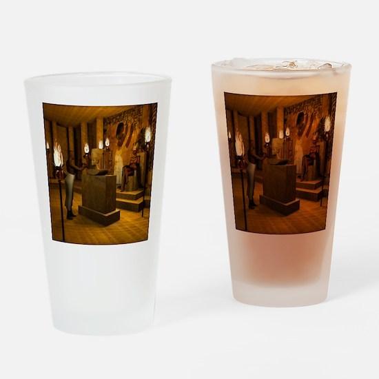 Queen Nefertitis Bust Drinking Glass