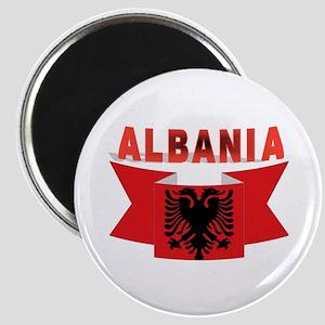 flag Albania Ribbon Magnet