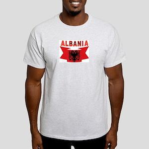 flag Albania Ribbon Light T-Shirt
