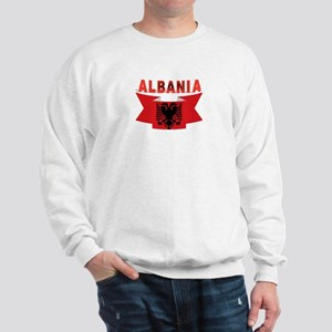 flag Albania Ribbon Sweatshirt