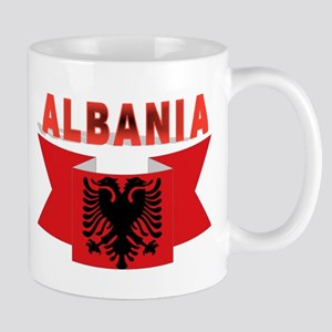 flag Albania Ribbon Mug