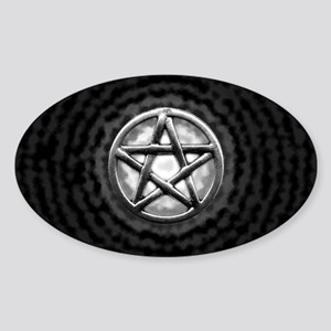 Silver Pentacle Sticker