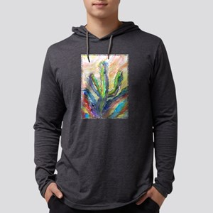 Cactus, southwest art! Mens Hooded Shirt